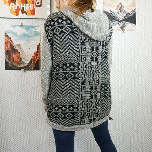 Urban Outfitters Koto chunky knit boho sweatshirt